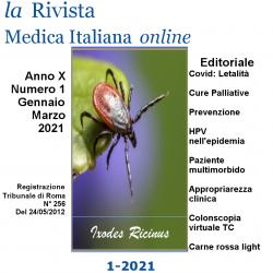 "On line ""La Rivista Medica Italiana"" n. 1/2021"
