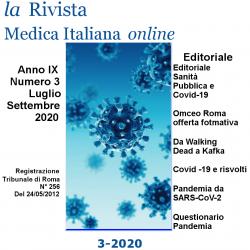 """On line """"La Rivista Medica Italiana"""" n. 3/2020 – Speciale Covid-19"""