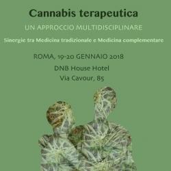 CANNABIS TERAPEUTICA, Roma 12-13 Maggio 2018
