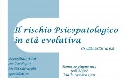 Il rischio psicopatologico in età evolutiva